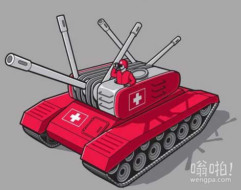 如果瑞士开战…