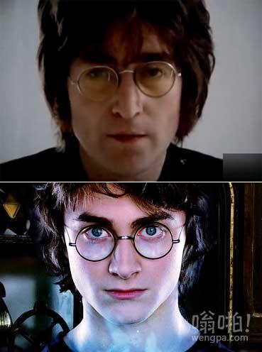 看着列侬怎么这么眼熟