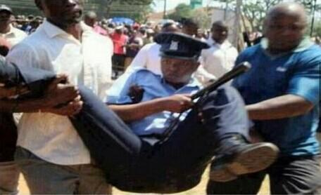 警察在非洲