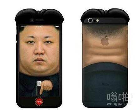 金正恩手机壳萌萌哒