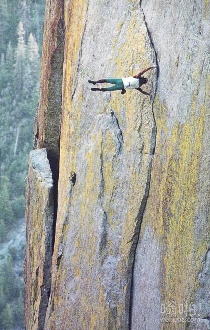 自由登山者都疯了