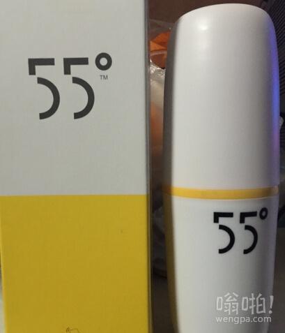 55度杯真相曝光:没有高科技材料 实为不锈钢层里灌盐水