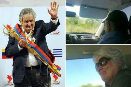 乌拉圭男子下班搭乘总统顺风车 陆续向近30辆车招手示意无人问津