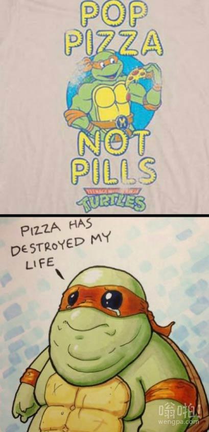 披萨毁了我的生活