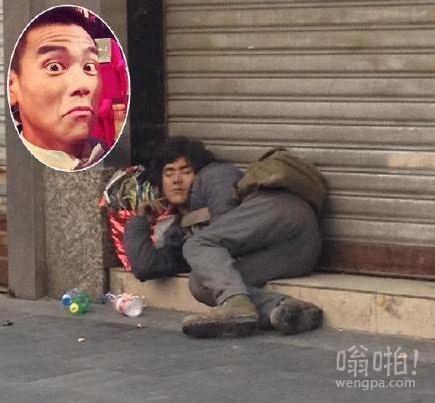 """乞丐版""""彭于晏?成都惊现最帅""""乞丐""""神似彭于晏"""