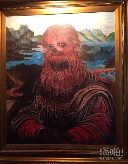 体育酒吧内发现惊人的经典油画