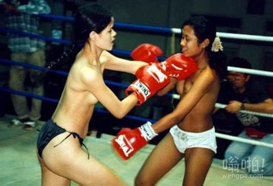 泰国女子裸体拳击赛