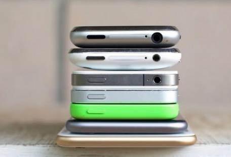 一张图片告诉你iPhone的进化