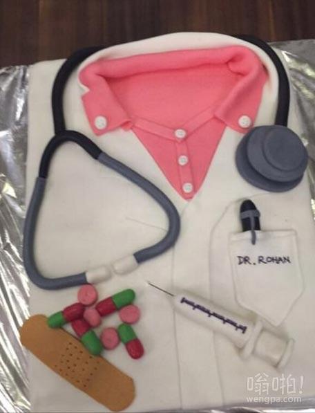 学习医学,这是我的生日蛋糕