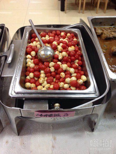 今天的午饭,圣女果炒鹌鹑蛋,你们也感受下