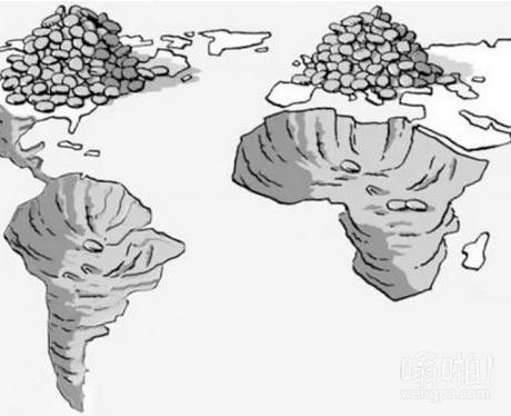 北方国家都充满了从南部来的移民。