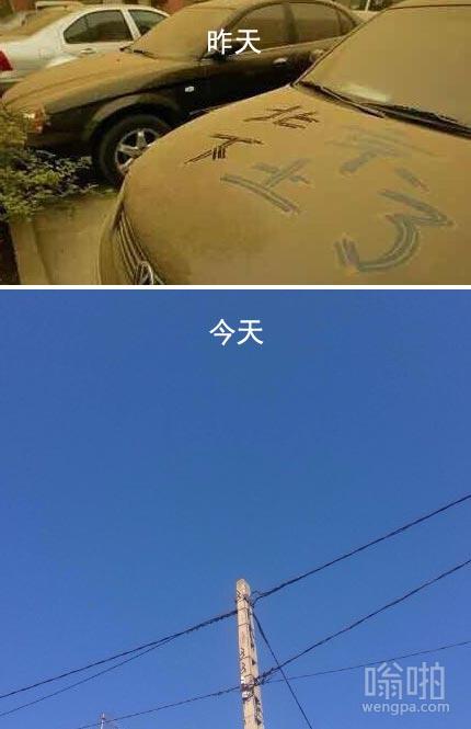昨天,今天。这就是北京