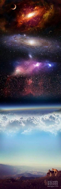 浩瀚的宇宙时间停止