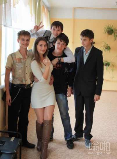 俄罗斯7年级的老师