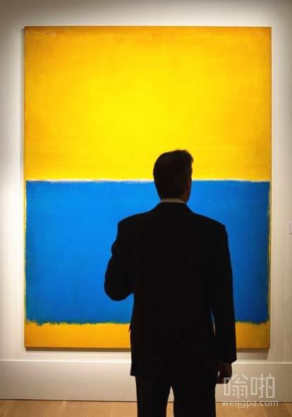 这副油画在纽约苏富比卖了4650万美金