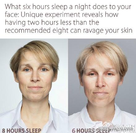 每天睡6小时和8小时的区别
