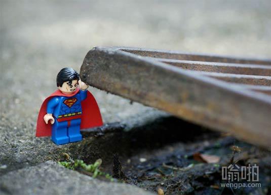 顿时觉得超人好有力量