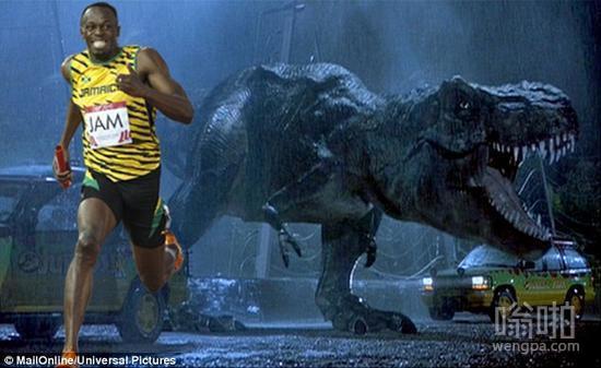 看了侏罗纪世界 想了一个问题:霸王龙能追的上博尔特么?