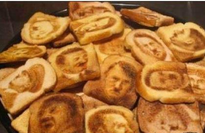 希特勒面包片