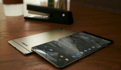 一个概念设计,诺基亚智能手机N1版