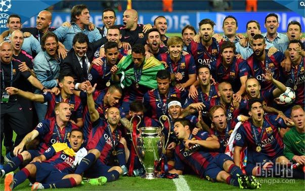 欧冠决赛巴萨3-1尤文 MSN组合所向披靡 苏神内马尔破门