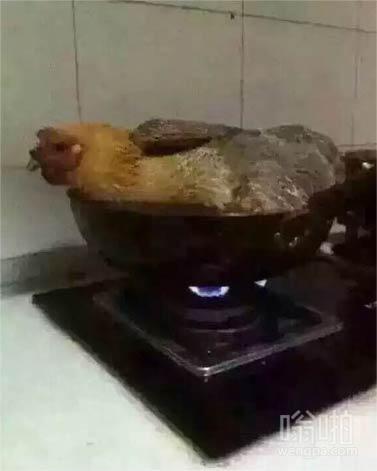 第一次熬鸡汤,好紧张