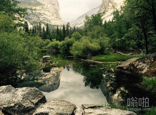 约塞米蒂国家公园(美国加利福尼亚州中部)