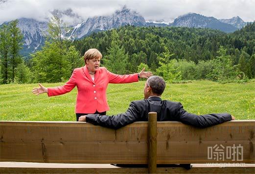 """""""亲爱的贝拉克,我们这环境怎么样?对面山上的树都这么大棵的"""""""