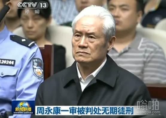 周永康庭审宣判现场曝光 被判无期满头白发