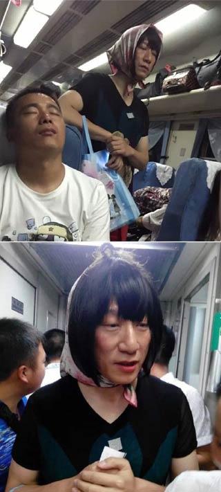 火车偶遇红雷大哥:去大理的火车碰见孙红雷在做极限挑战任务 网友:孙红梅