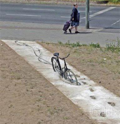 这辆自行车到底经历了什么