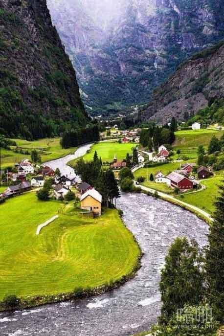 这只是瑞士的村庄