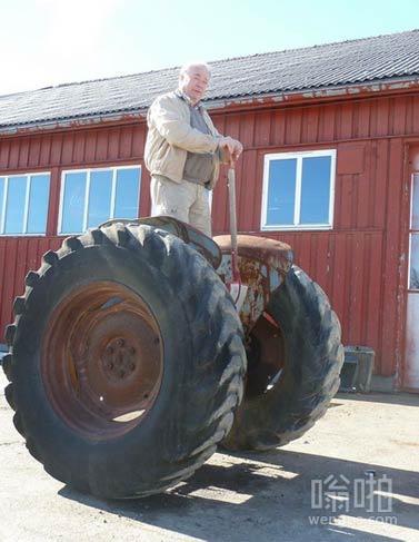 赛格威在挪威农村