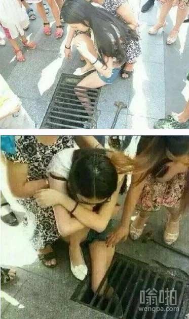 女胖纸:叫你瘦!叫你筷子腿!