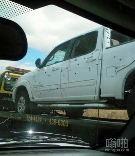 这辆车遭遇了什么