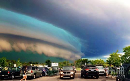 密歇根州的天空