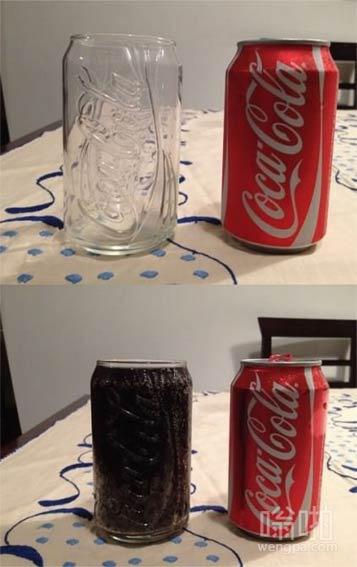 如果可口可乐用玻璃瓶是不是很惨