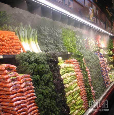 超市蔬菜区