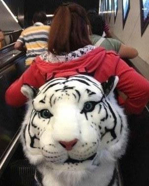 这白虎头太逼真了