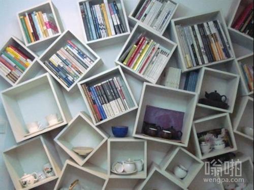 这绝不是强迫症患者家的书柜