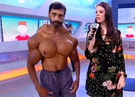 这种肌肉,你喜欢吗