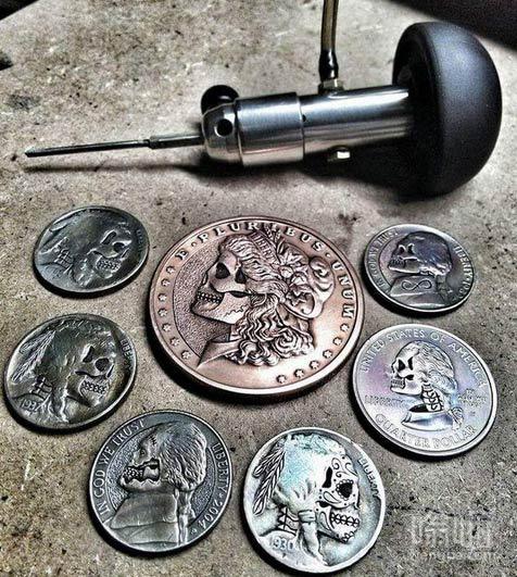 硬币重新雕刻后 画风完全变了