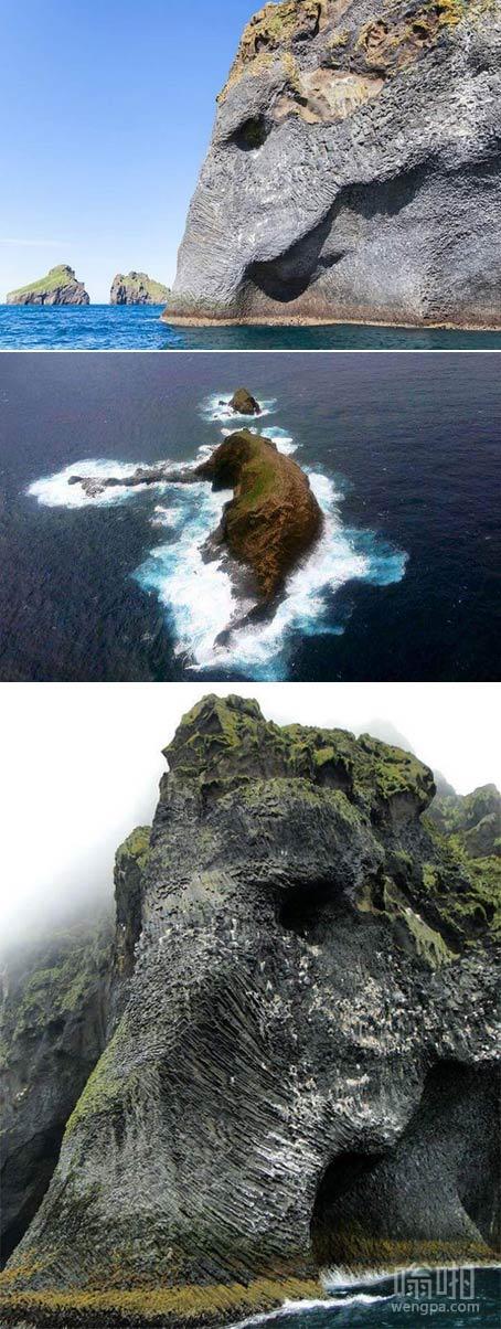 大象岩,冰岛