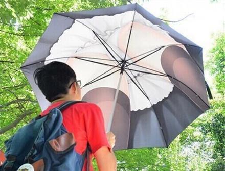喜欢二元次的宅男用的伞