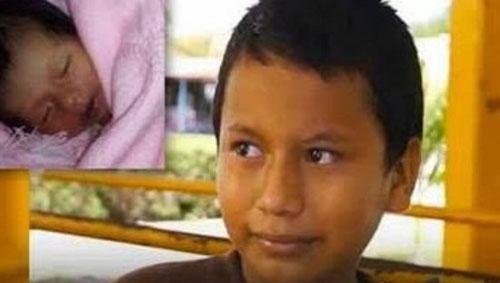 11岁小孩当爹:我超爱我的宝宝  虐哭80后单身汪