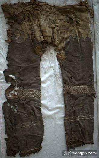3000岁的裤子 现在看也觉得很潮啊