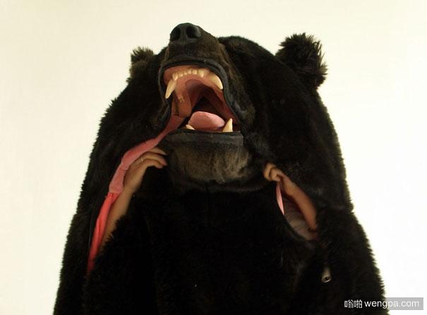 熊睡袋 拯救失眠者 熊睡袋将确保没有人干扰你的睡眠
