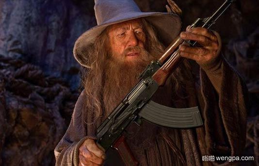 我有这个武器?
