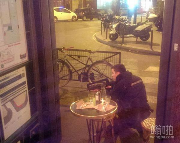 法国巴黎爆炸恐怖袭击高清现场图