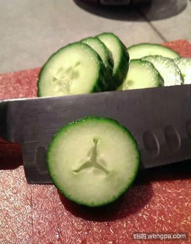 黄瓜有一颗AIR JORDAN的心